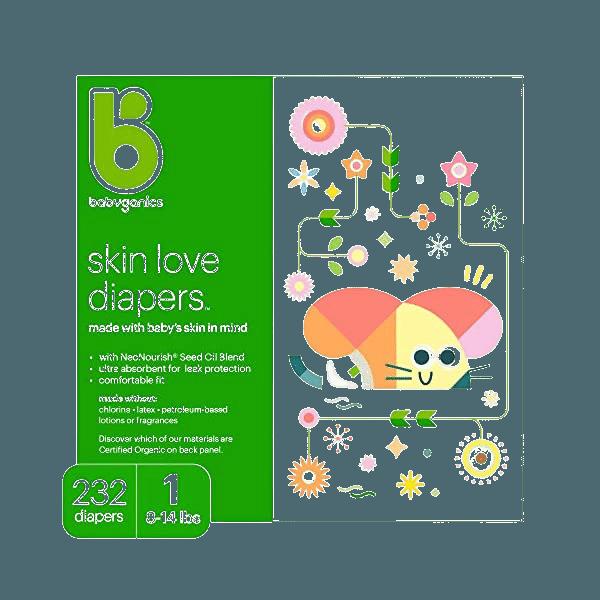 Babyganics Ultra Absorbent Diapers